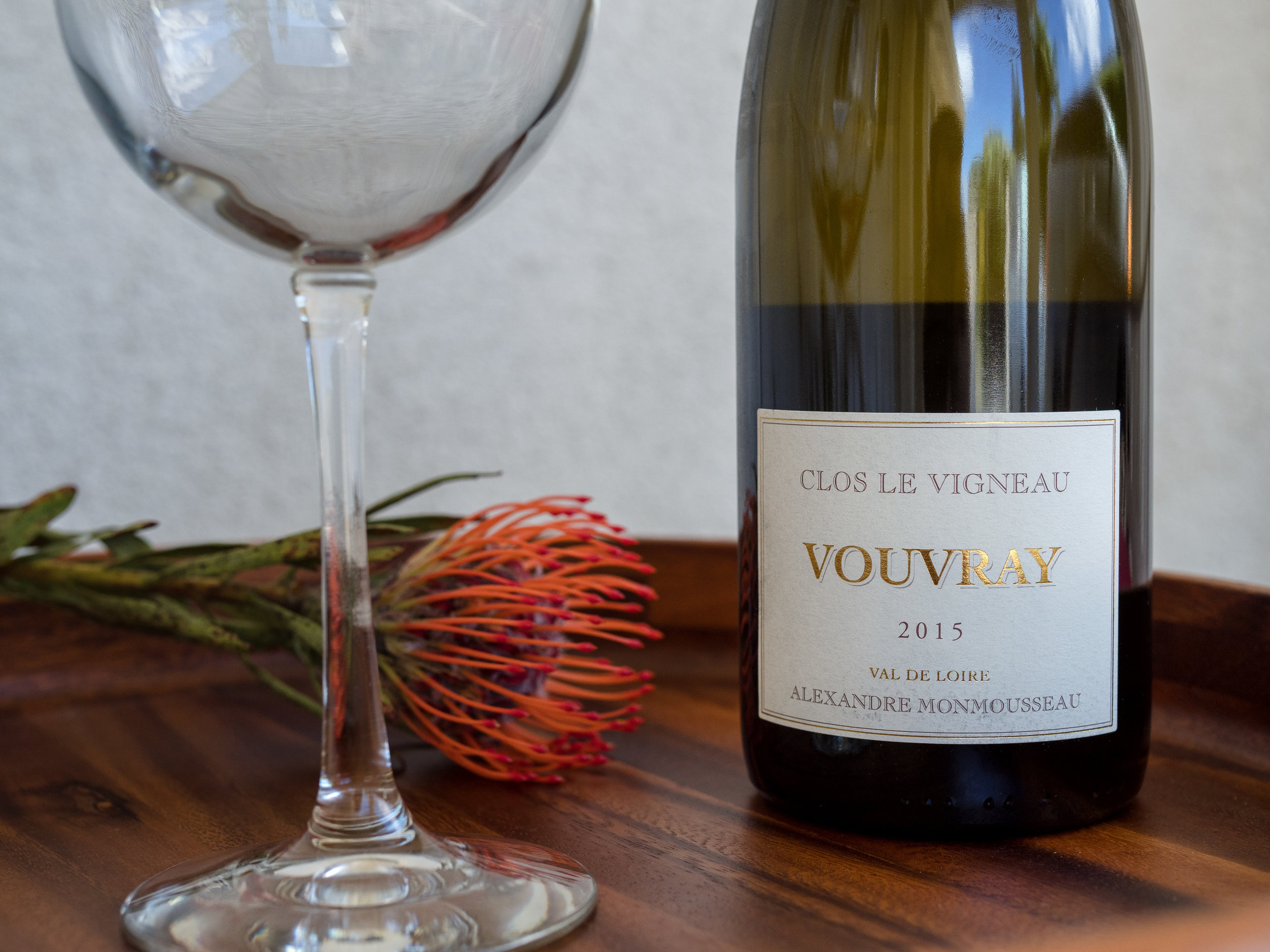 The French selection from Vouvray, available at Fujioka's Wine Times