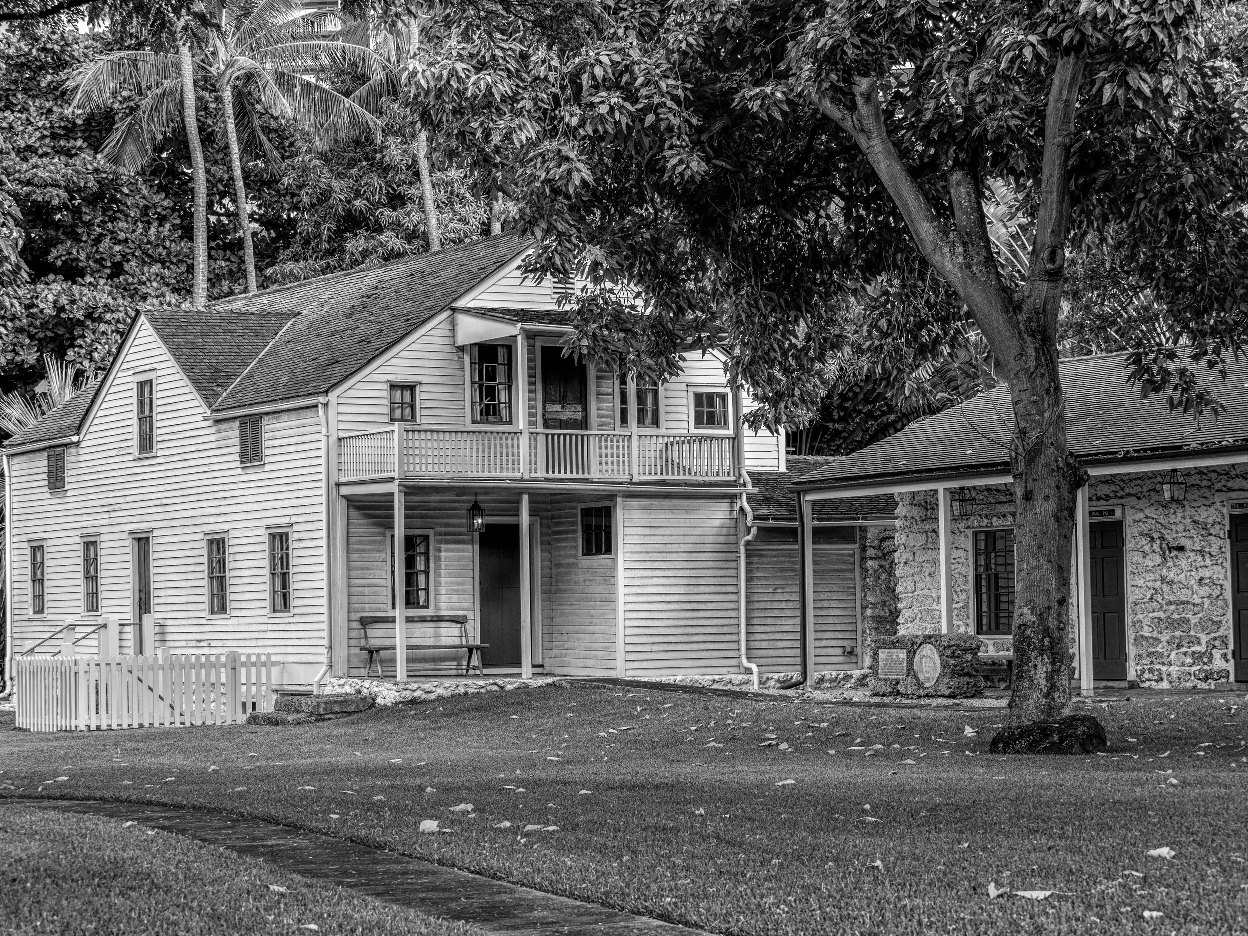 The Hawaiian Mission Houses, conveniently located adjacent to Kawaiaha'o Church in Honolulu.