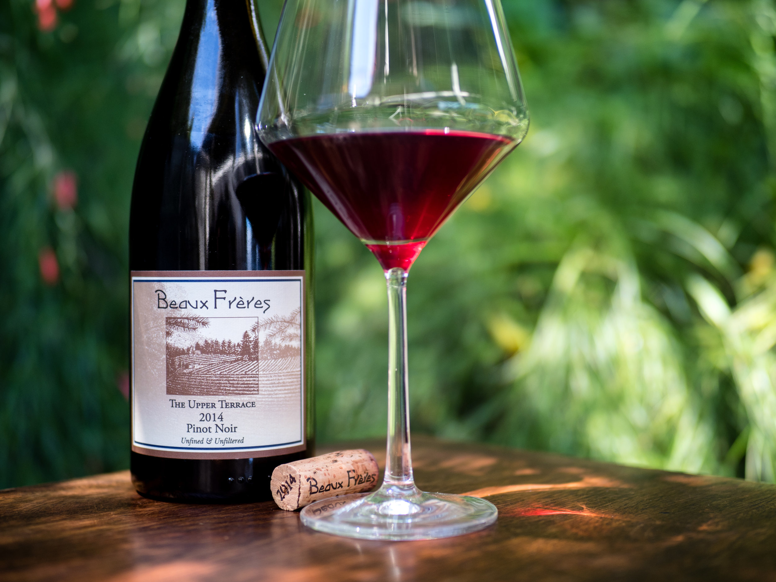 Musings by the Glass - Cheers to You Mr. Jefferson - Beaux Frere Pinot Noir