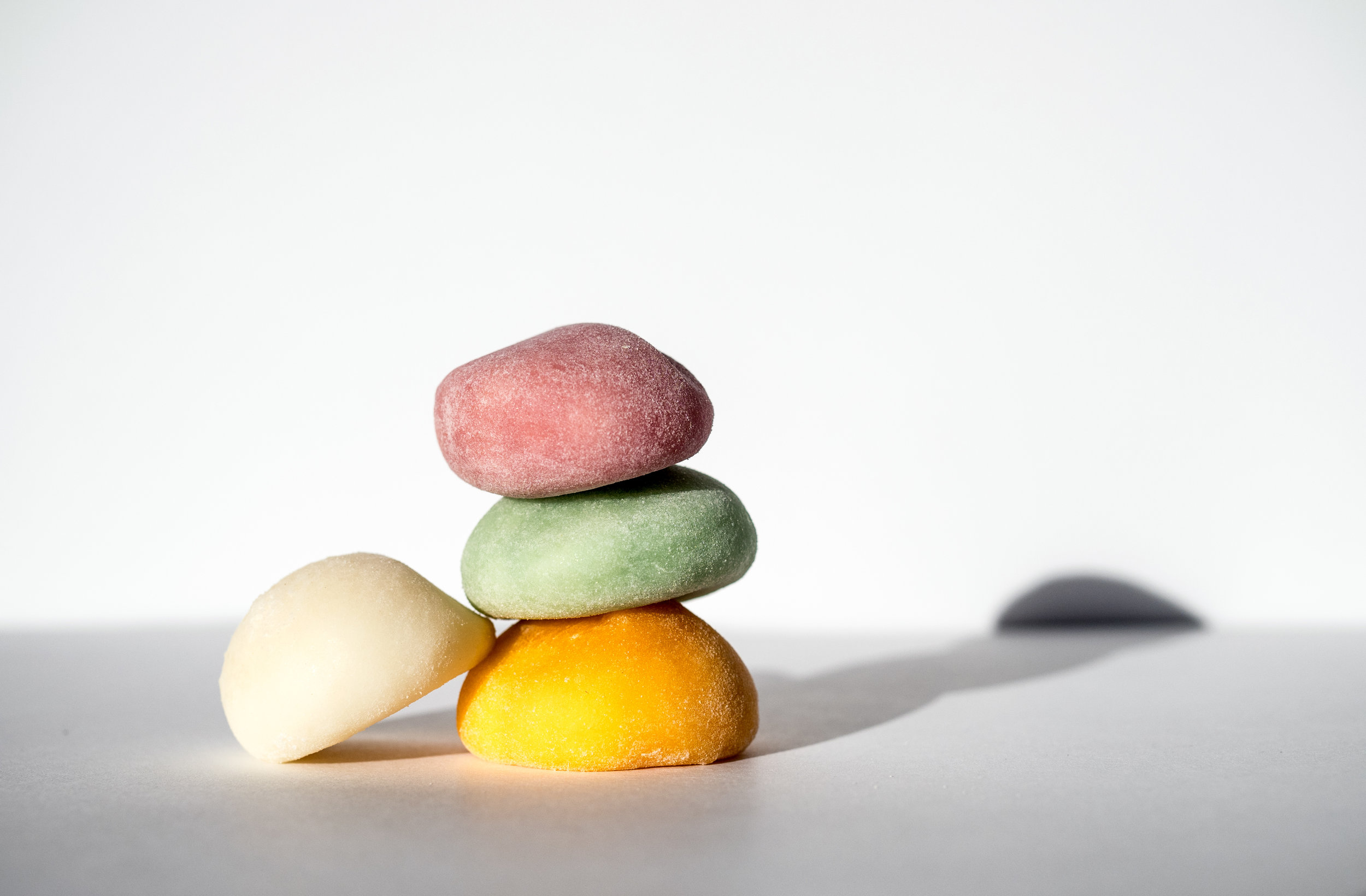 Musings by the Glass - Sake-Confection Hypothesis - Mochi Stack