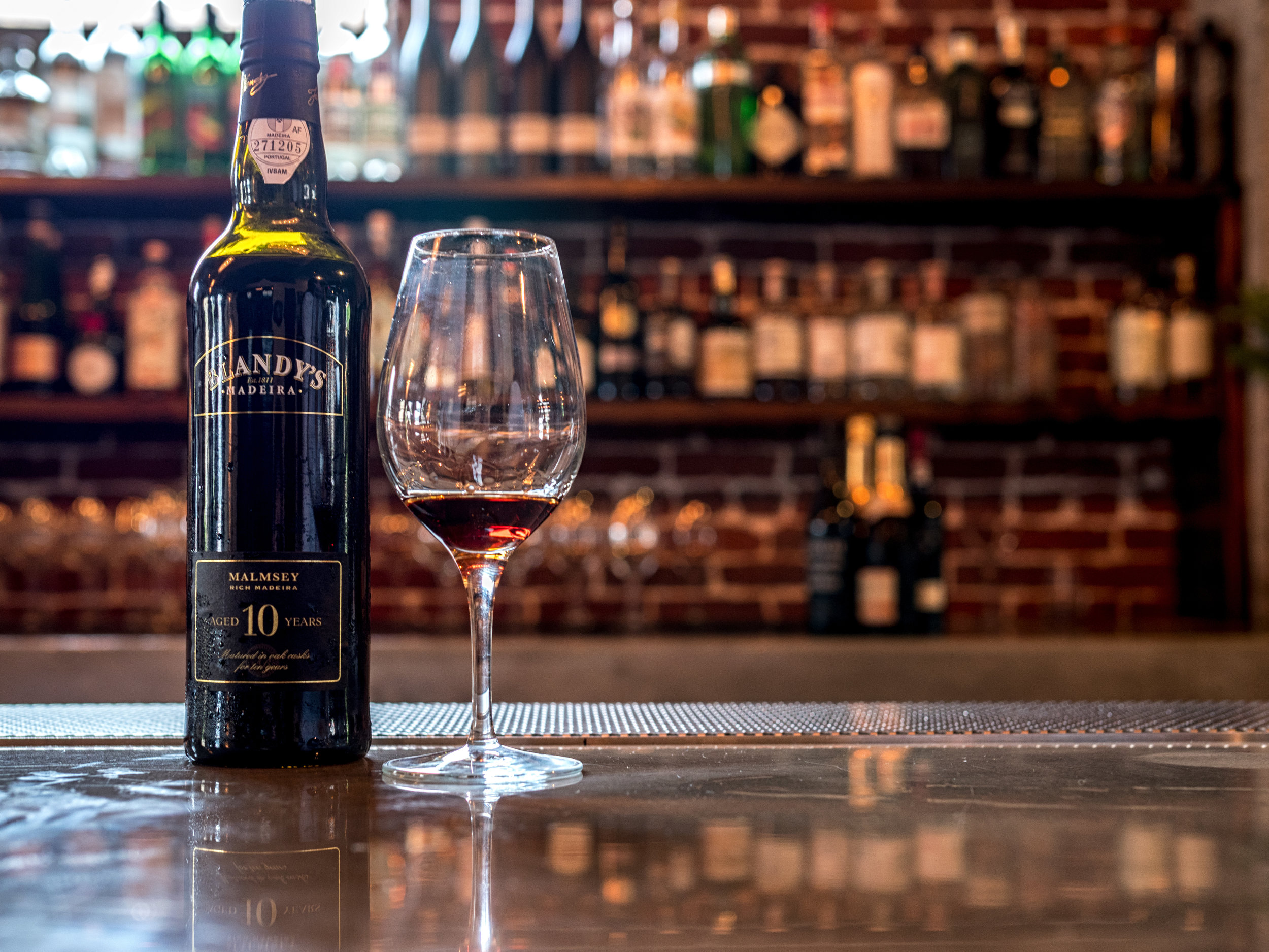 Musings by the Glass - The Nightcap Corollary - Blandy's Malmsey 10-Year Madeira