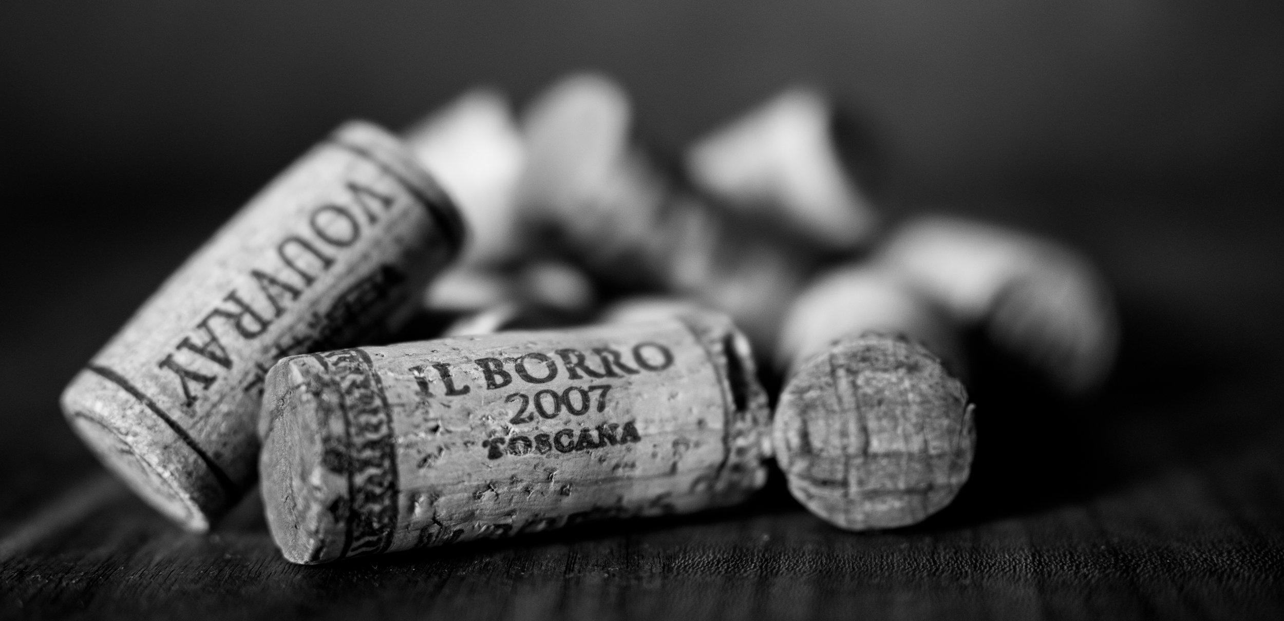 Musings by the Glass - Vinous Deduction Theorem - Cork Pile