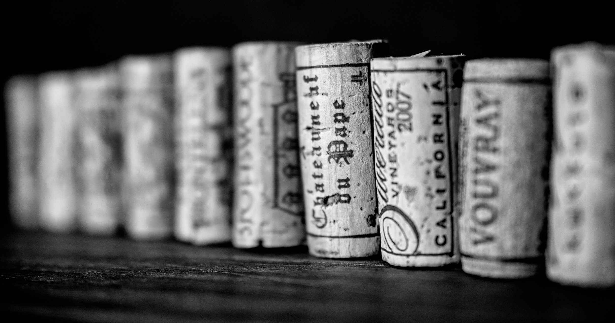 Musings by the Glass - Vinous Deduction Theorem - Cork Lineup