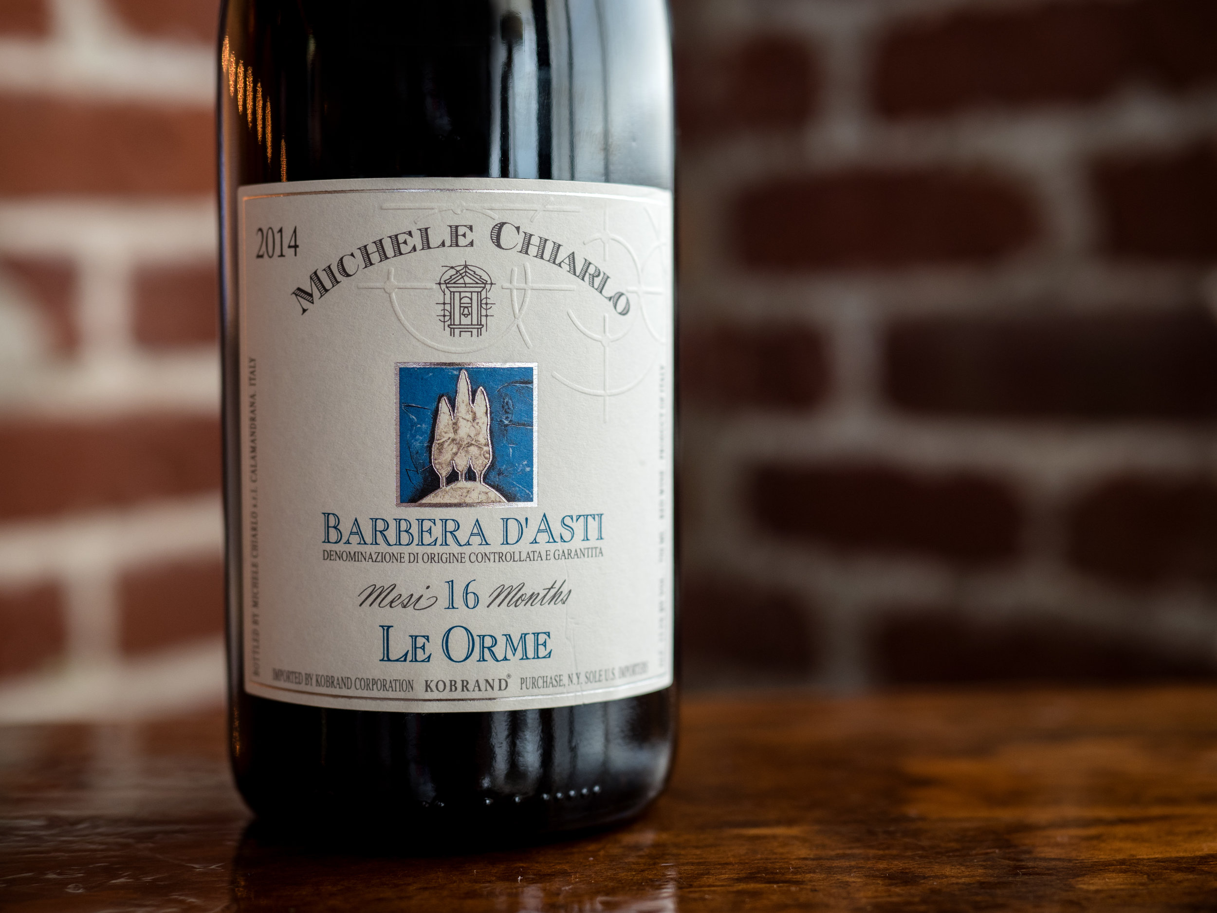 Musings by the Glass - Deductive Challenge - Barbera d'Asti Italian Wine Piedmont