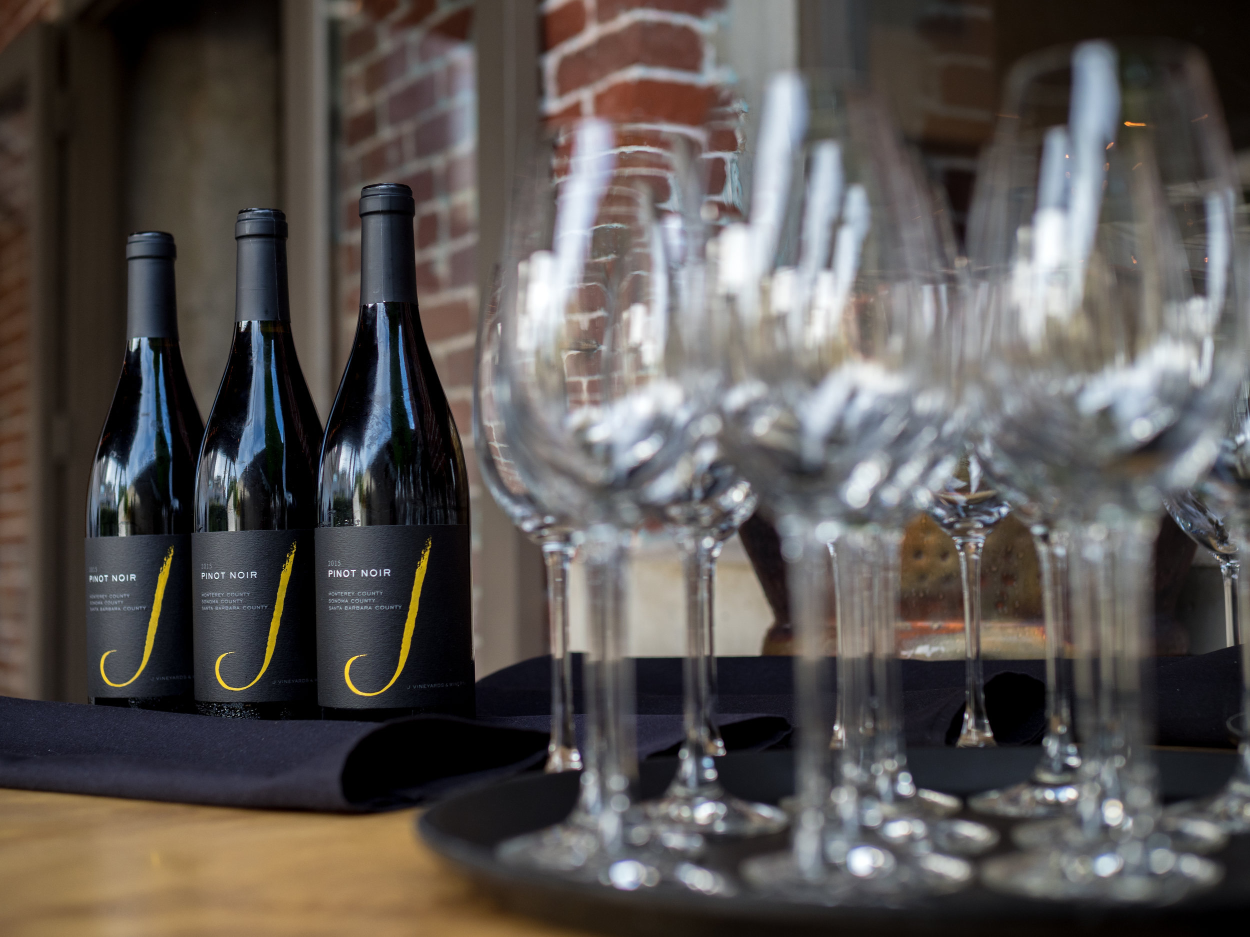 Musings by the Glass - Tips for Pairing Wine and Seafood - J Vineyard Black Label Pinot Noir