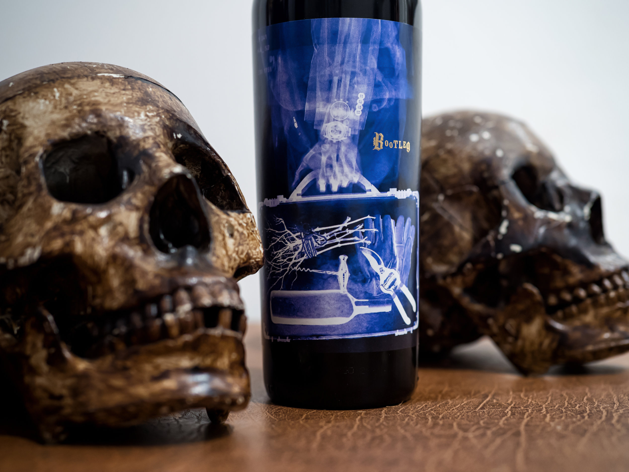 Musings by the Glass - Spooky Wines with Jorge Garcia - Spooky Wines Lineup - 2013 Bootleg Red Blend Napa California