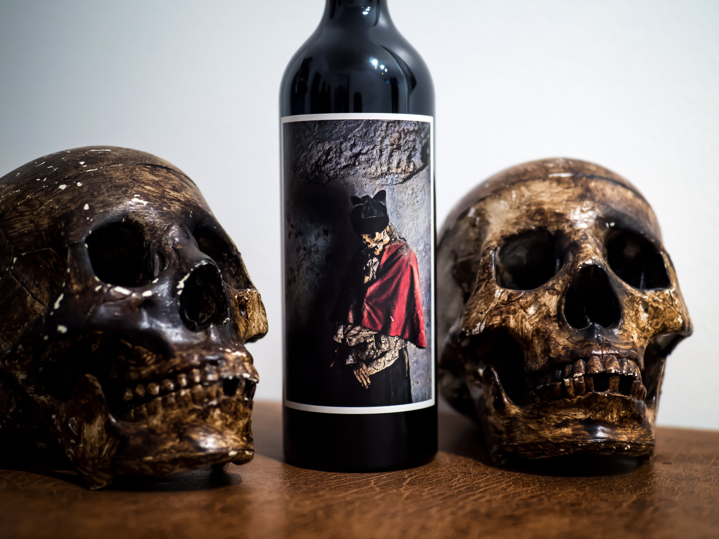 Musings by the Glass - Spooky Wines with Jorge Garcia - Spooky Wines Lineup - 2014 Orin Swift Palermo Cabernet Sauvignon Napa Valley California