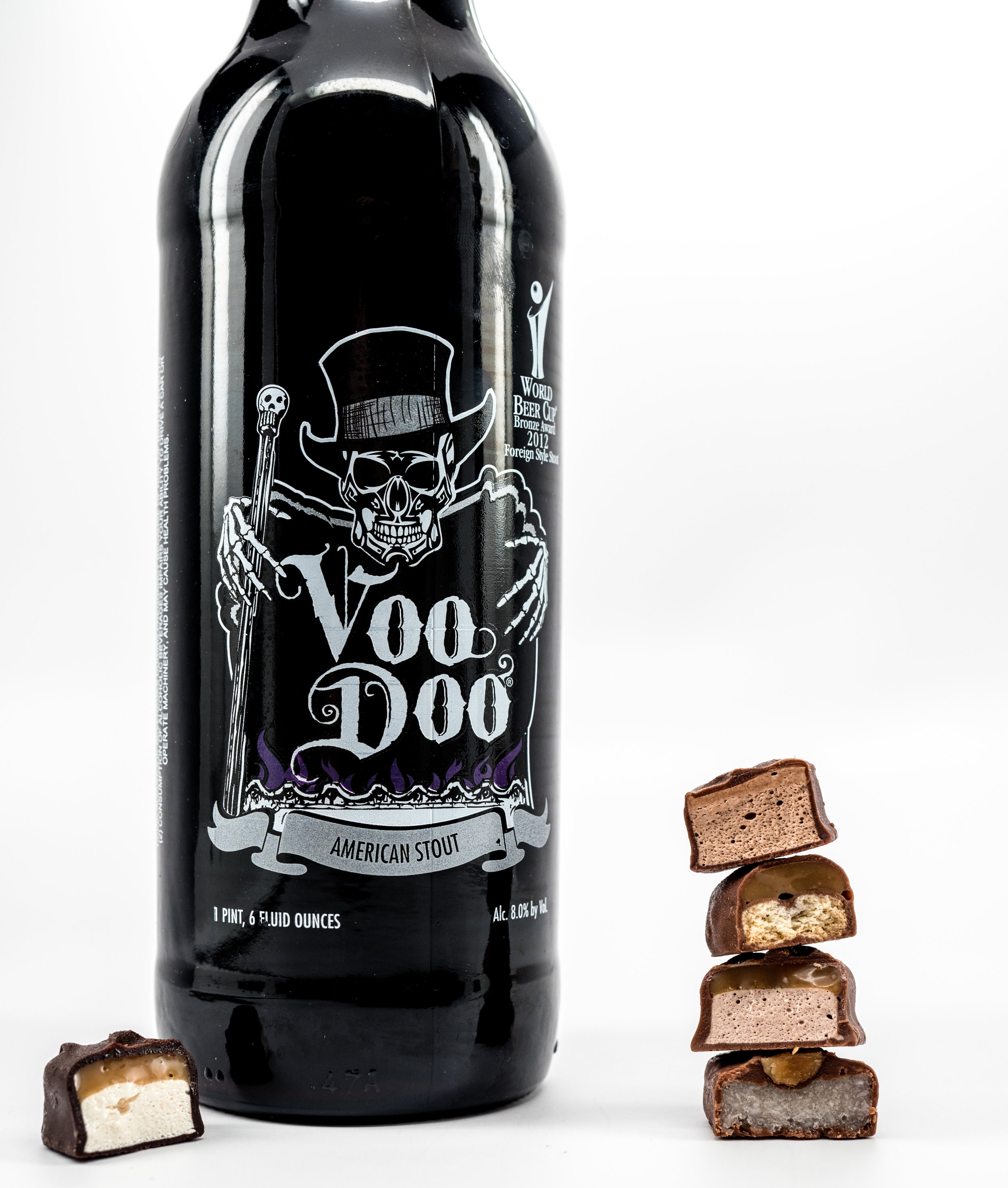 Musings by the Glass - Pairing Beer with Halloween Candy - Cholocate Bars and Stout