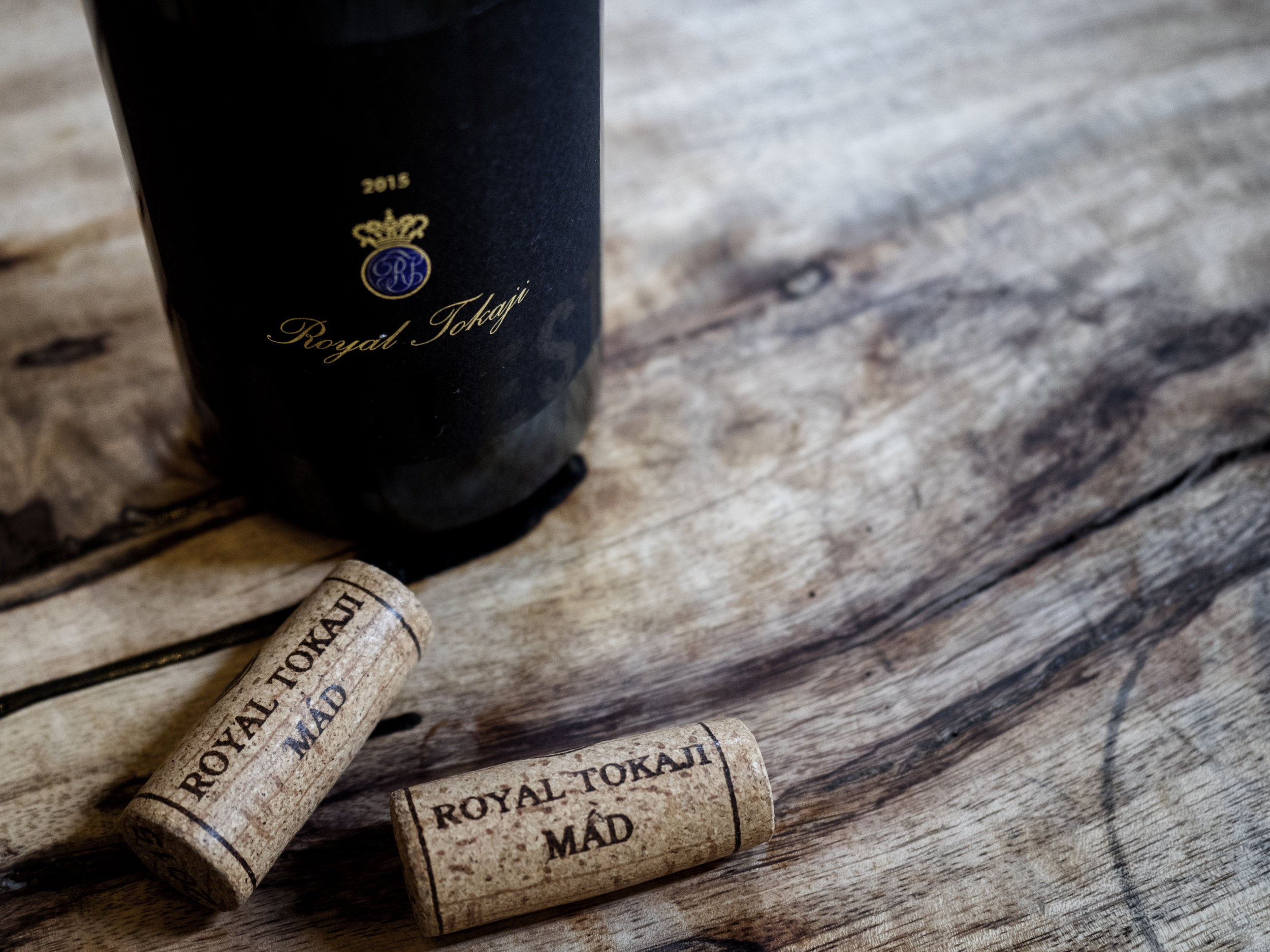 Musings by the Glass - Pig and the Lady Ho Farms Dinner - Royal Tokaji Late Harvest Mad Hungary