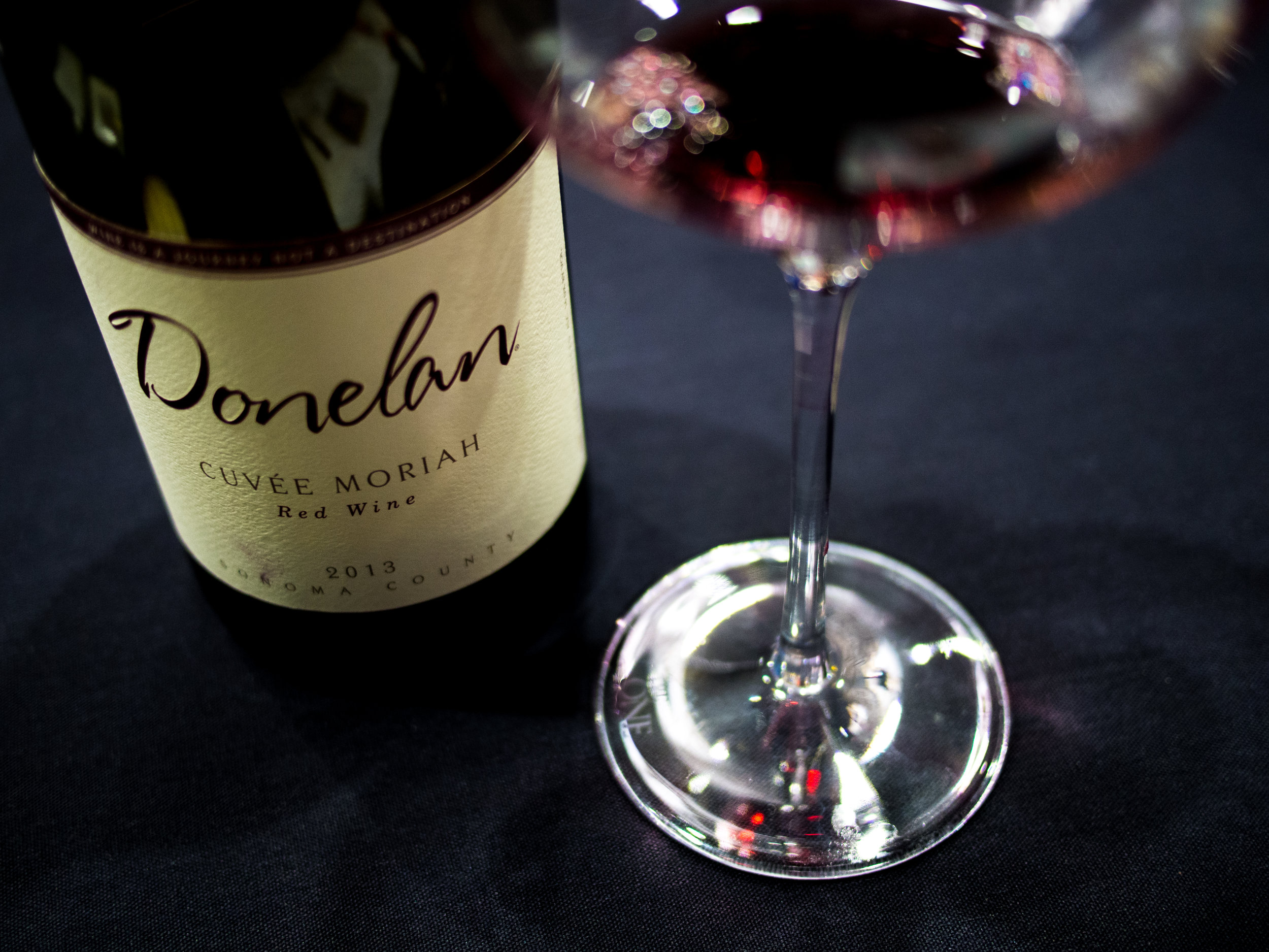 Musings by the Glass - Wines from Wine Bloggers Conference - Donelan Cuvee Moriah Grenache Blend from Sonoma California