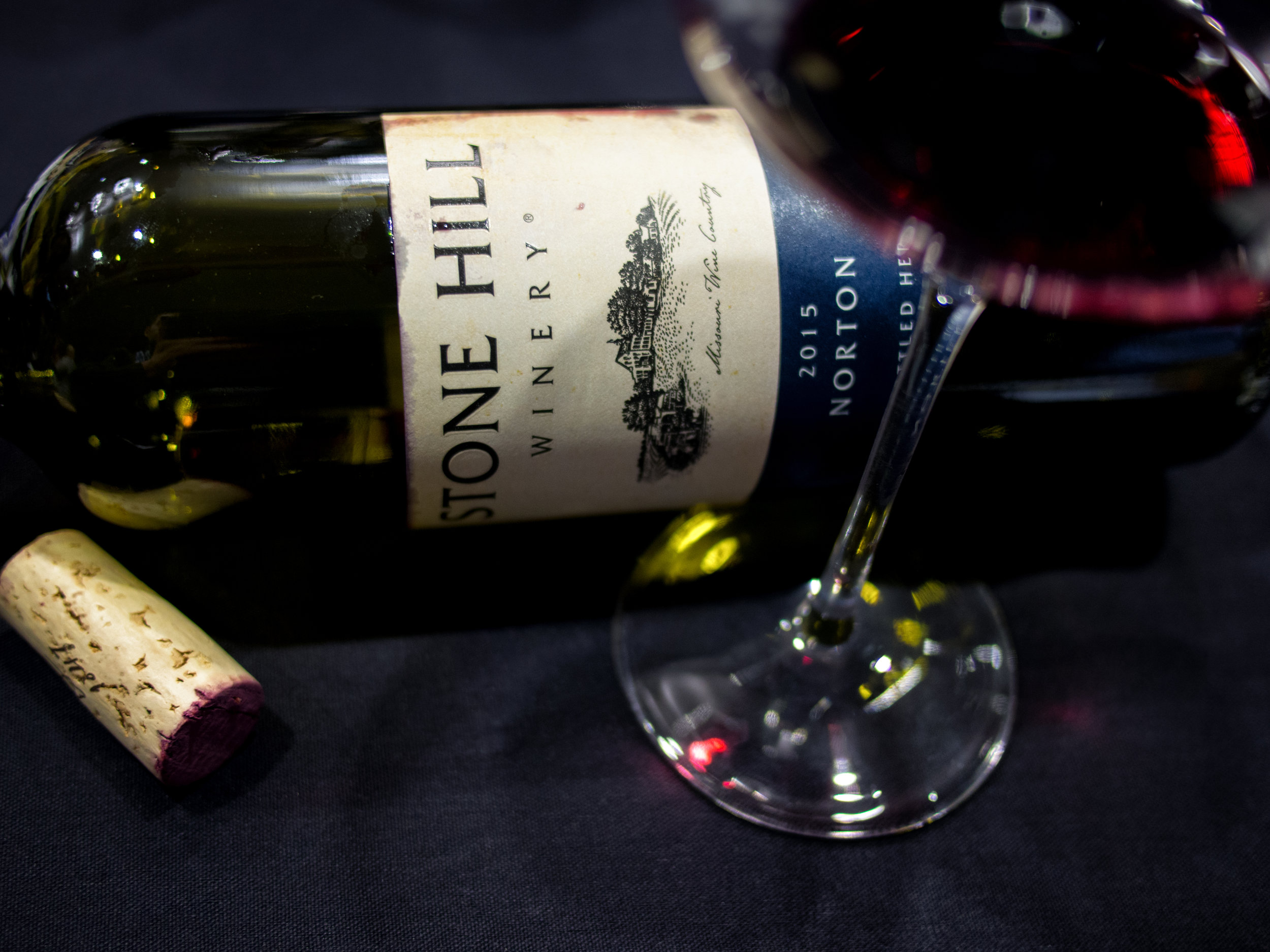 Musings by the Glass - Wines from Wine Bloggers Conference -  Stone Hill Winery Norton from Missouri