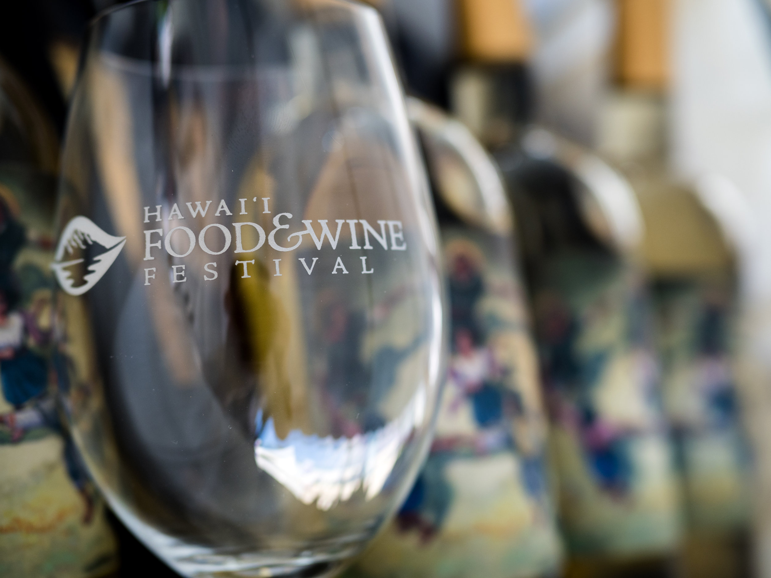 Musings by the Glass - Hawaii Food and Wine Festival - Hawaii Food and Wine Festival Wine Glass