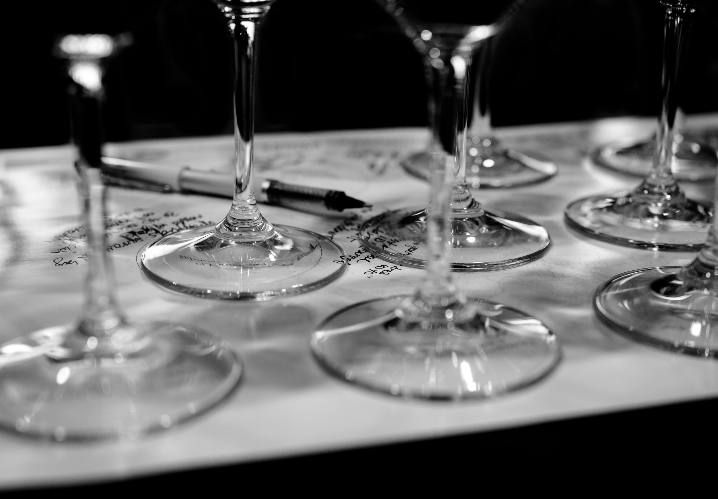 Musings by the Glass - Hawaii Food and Wine Festival - Wine Seminar Notetaking
