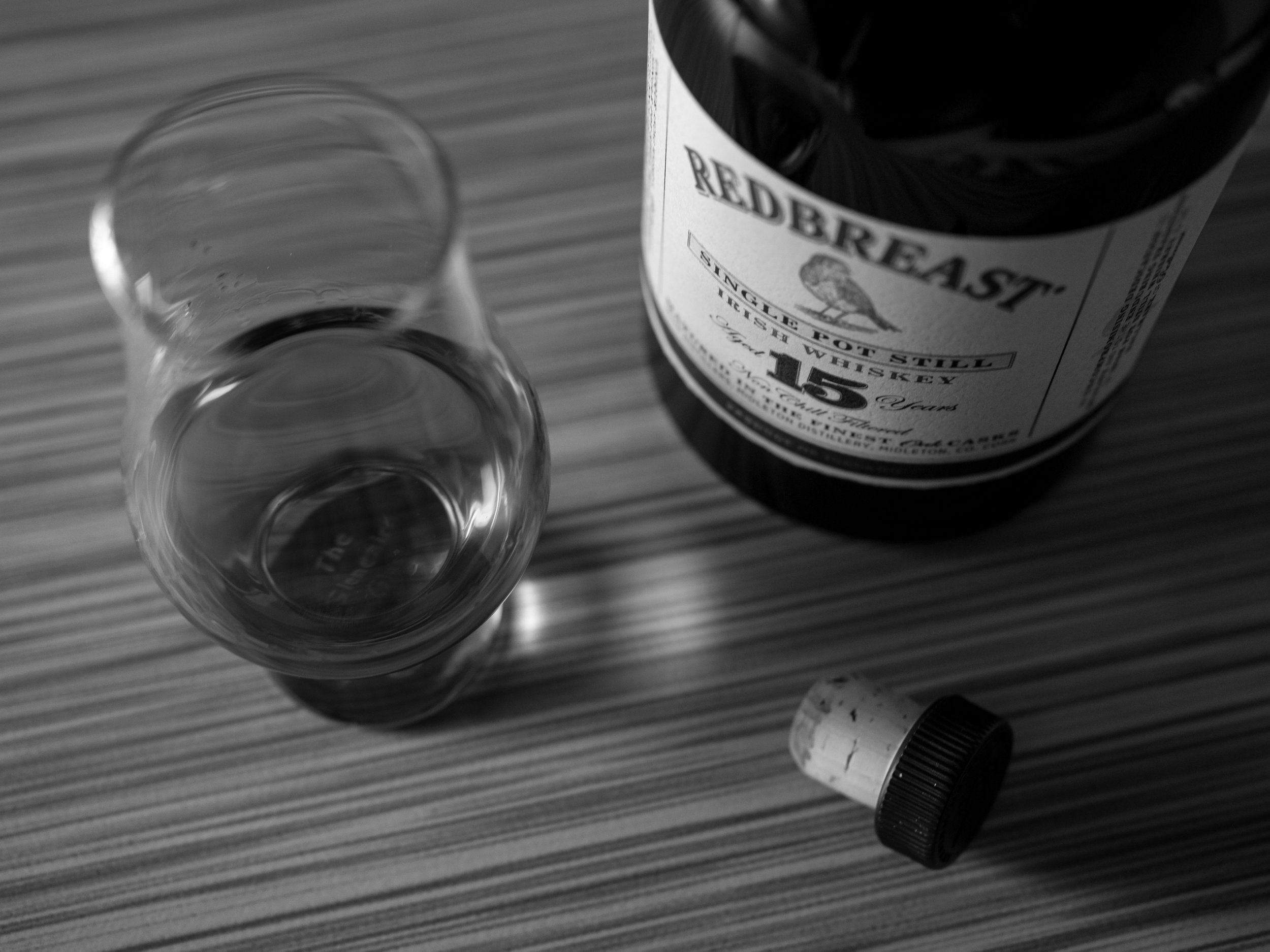 Musings by the Glass - Ode to Saint Patrick - Redbreast 15 year single pot still whiskey from Ireland