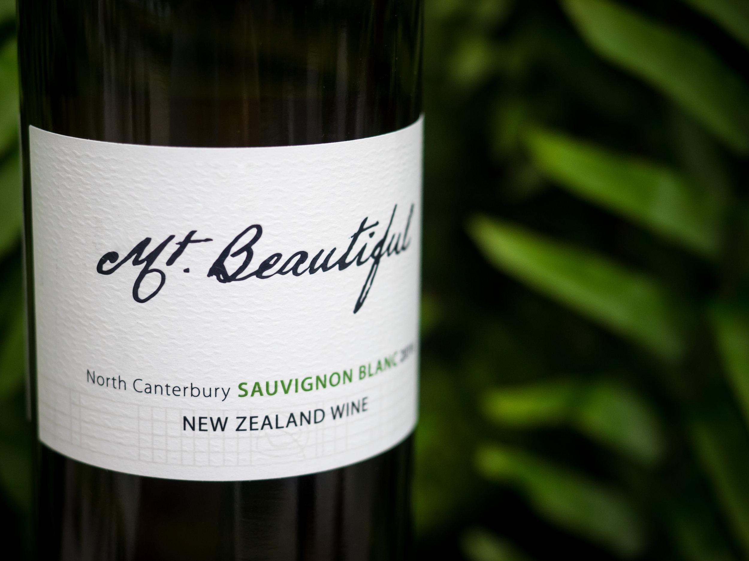Musings by the Glass - The Pineapple-Kiwi Combination - Mt. Beautiful Sauvignon Blanc