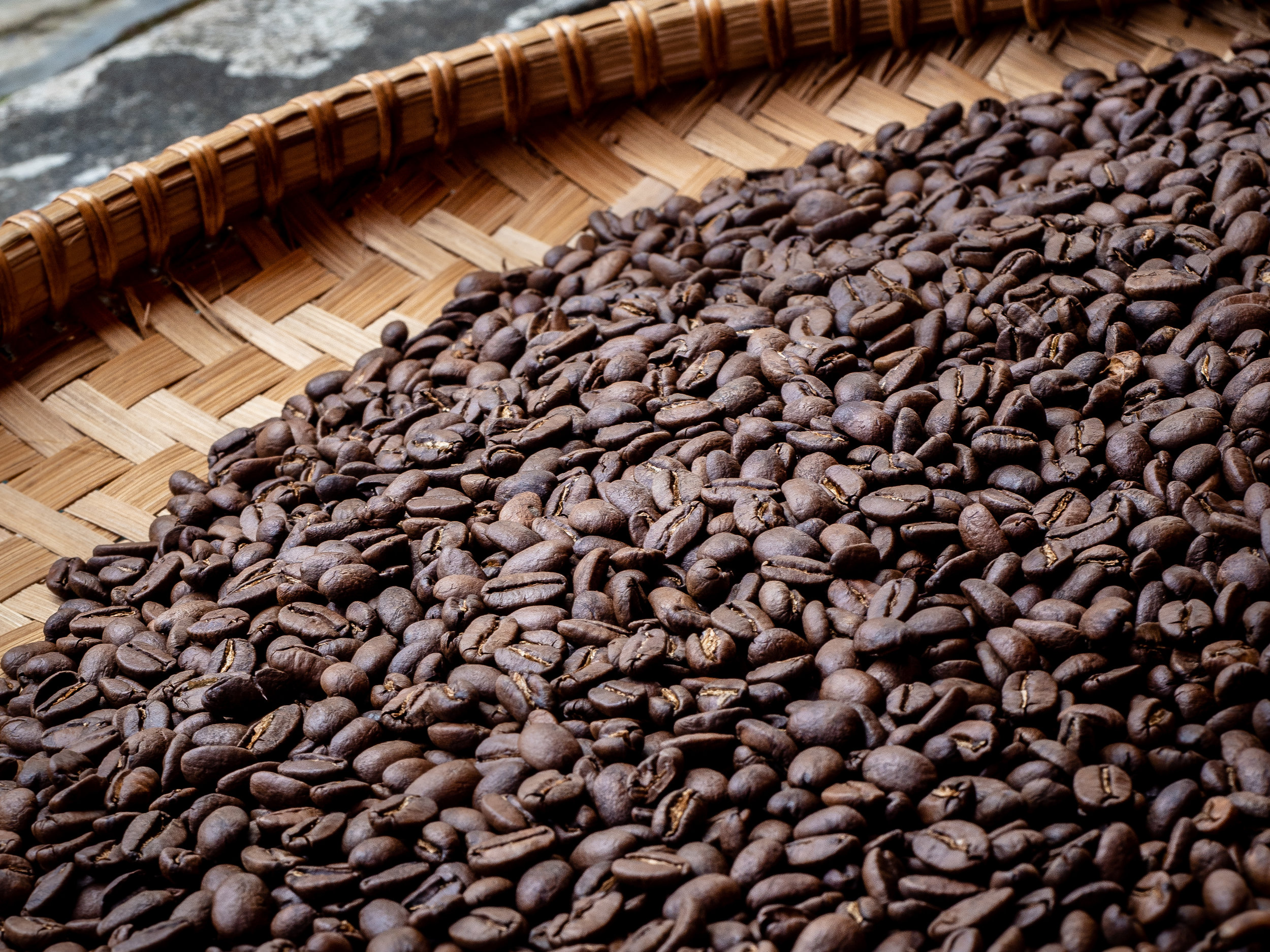 Musings by the Glass - Caffeinated Caravan - Coffee Beans