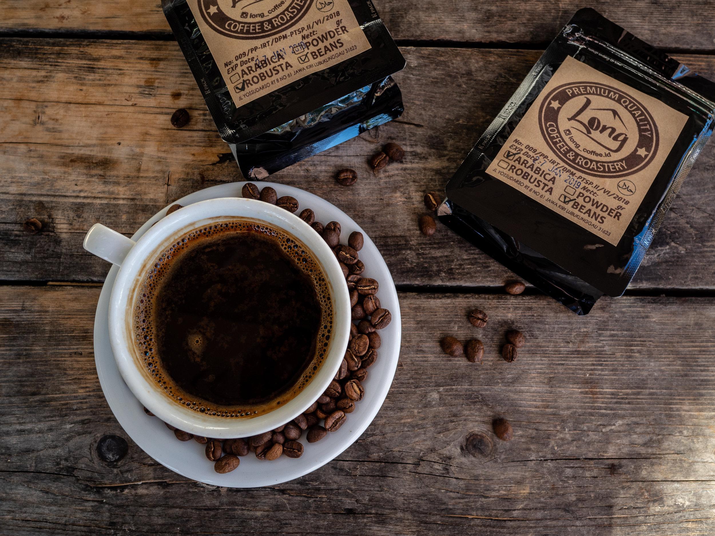Musings by the Glass - Caffeinated Caravan - Long Coffee & Roastery