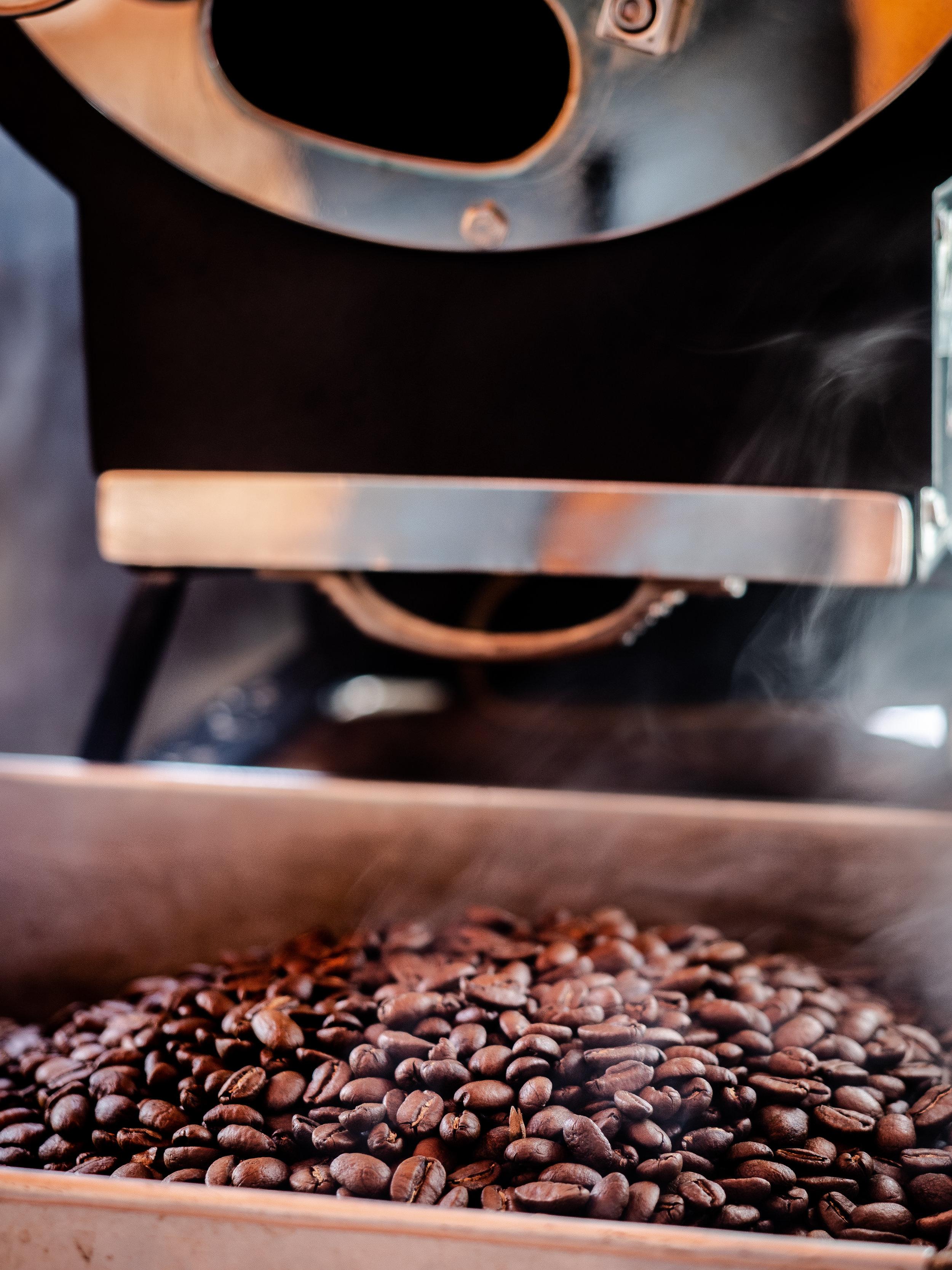 Musings by the Glass - Caffeinated Caravan - Coffee Roast