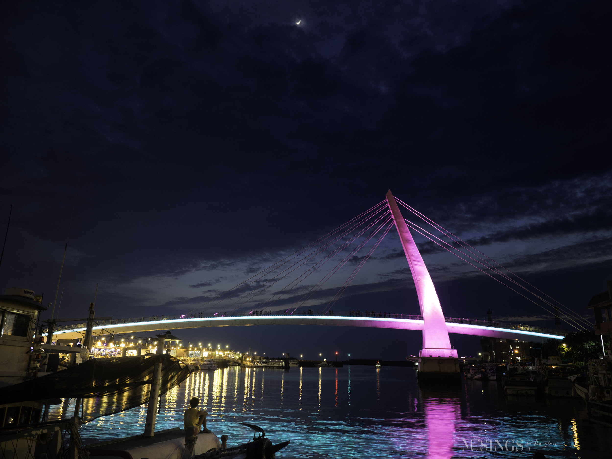 Gazing at Lover's Bridge
