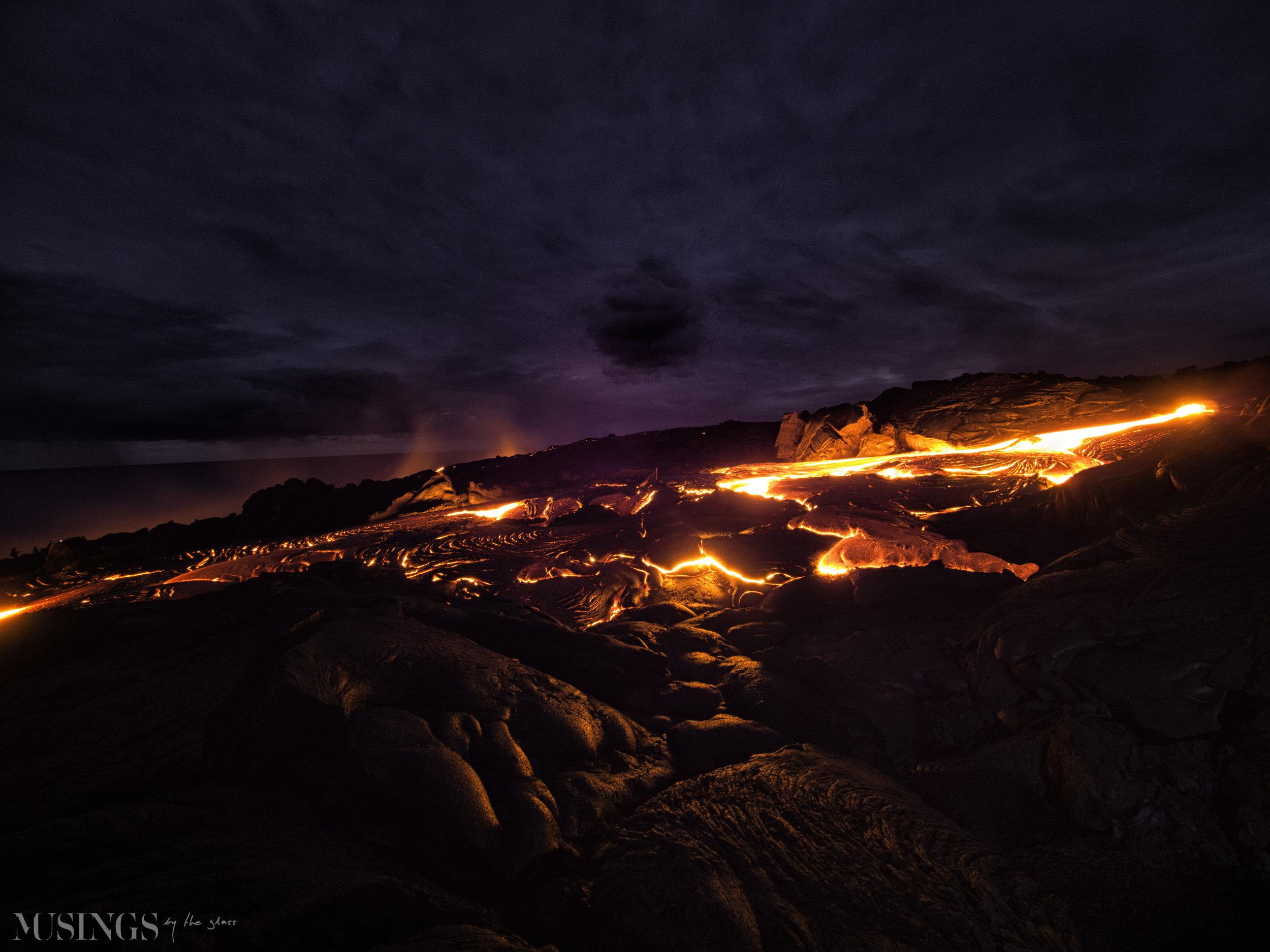 Kīlauea Breathes Fire