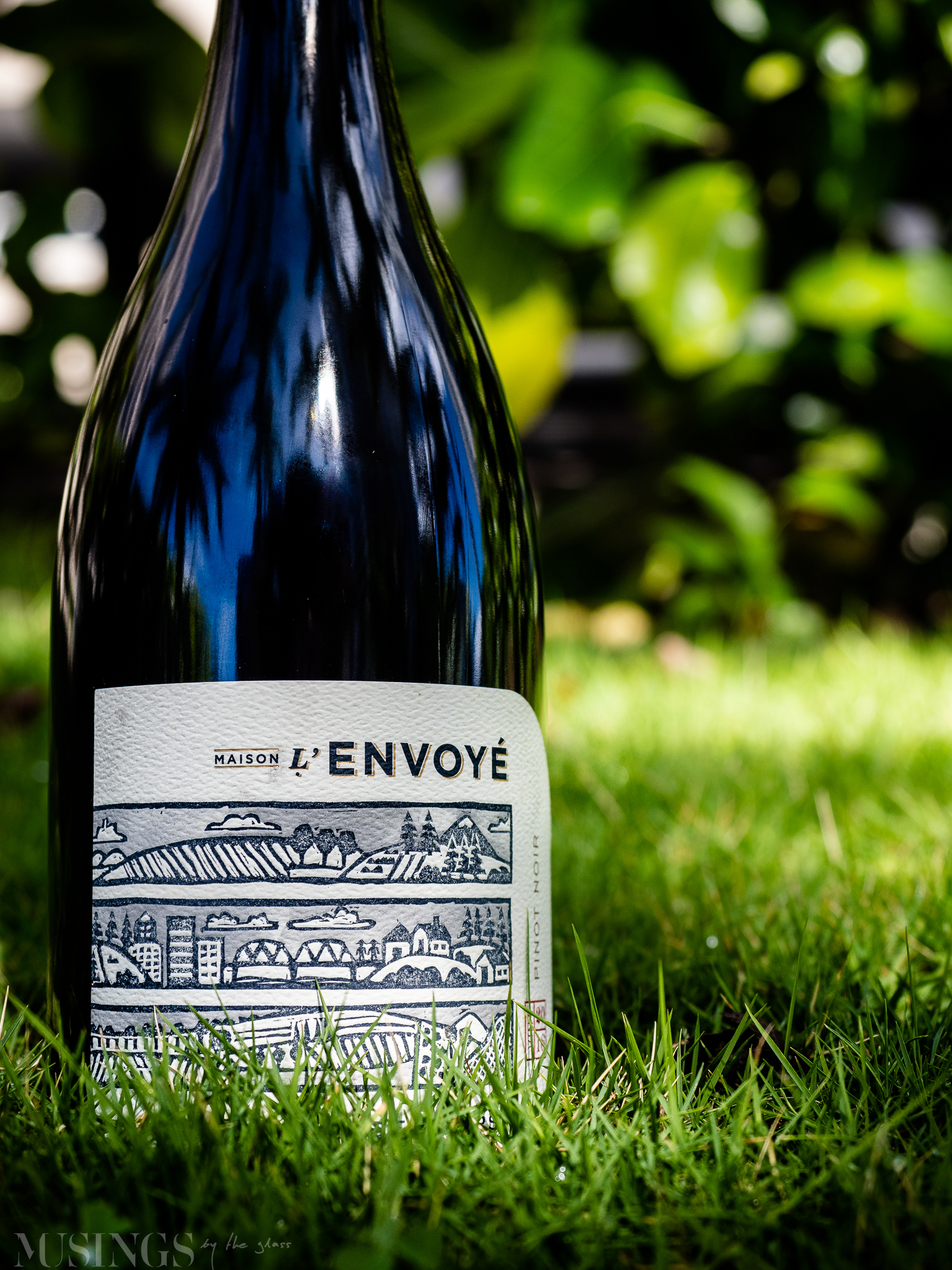 Musings by the Glass - Maison l'Envoyé Pinot Noir Red Wine from Willamette Valley, Oregon