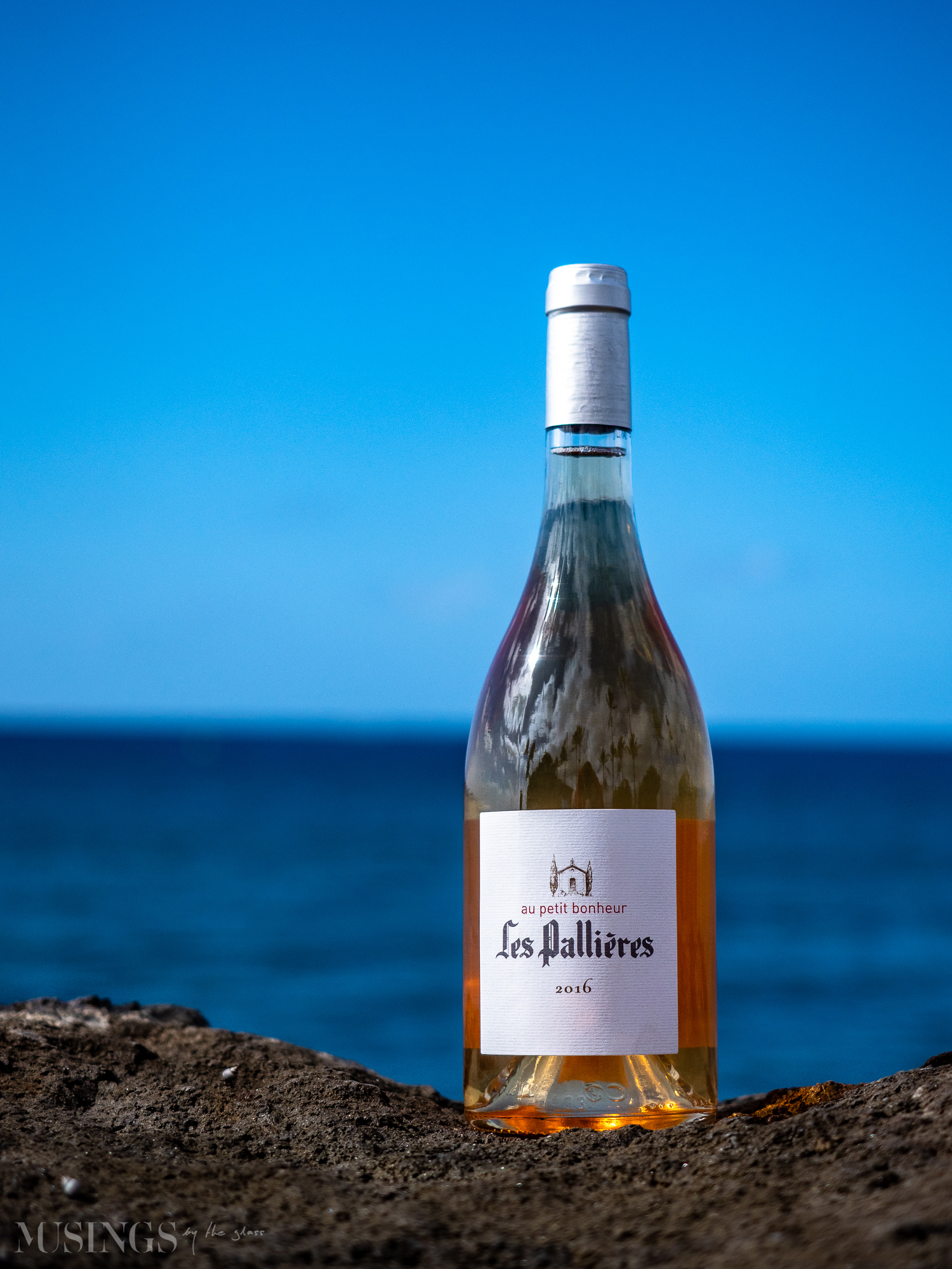 Musings by the Glass - Tasty Recommendations - Domaine Les Pallieres Rose Wine from Gigondas, Southern Rhone Valley, France