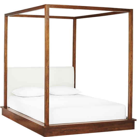 5.  Bali wood canopy bed from CB2  -  $1,199 - $1,399