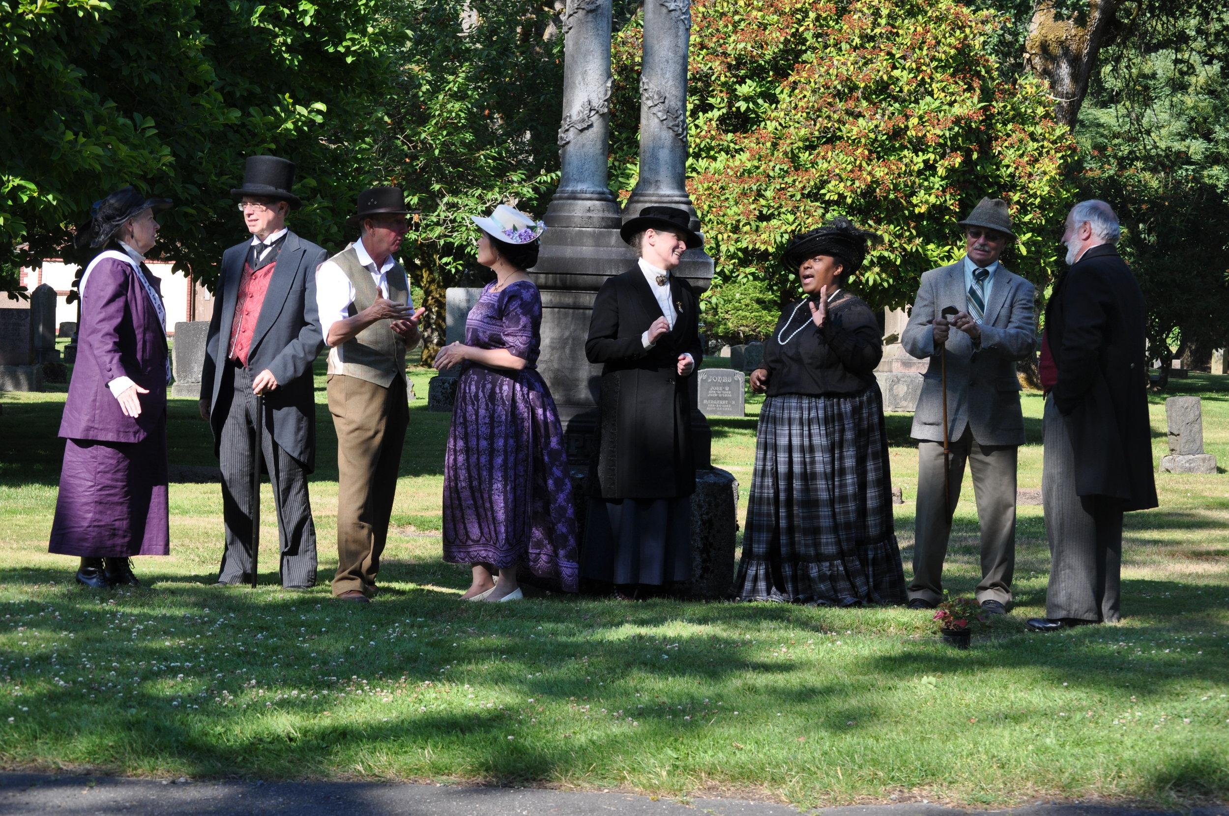 Living History - Giving voice to our ancestors.