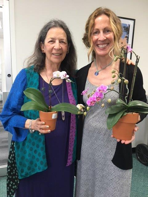 Joan and Kathryn with orchids 1.jpg