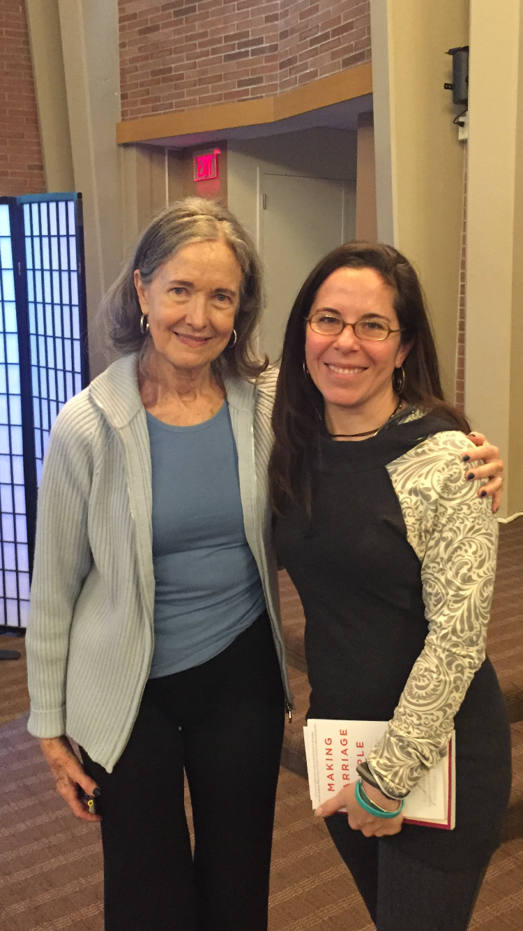 With Helen LaKelly Hunt