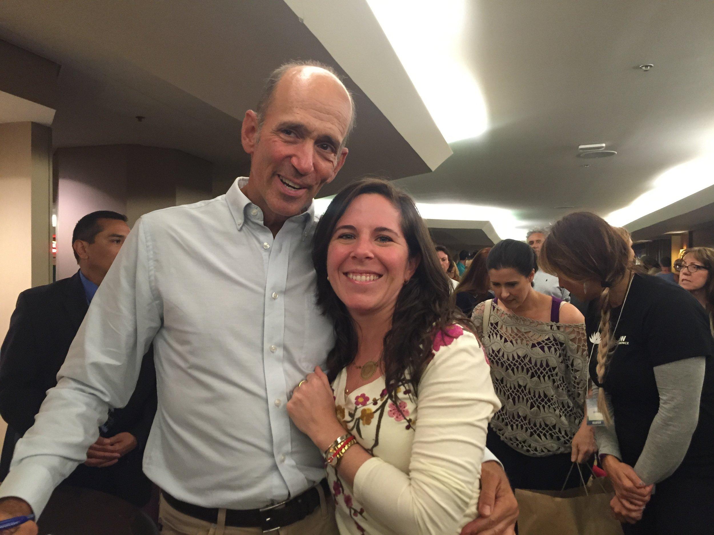 Meeting one of my heroes, Dr. Mercola!