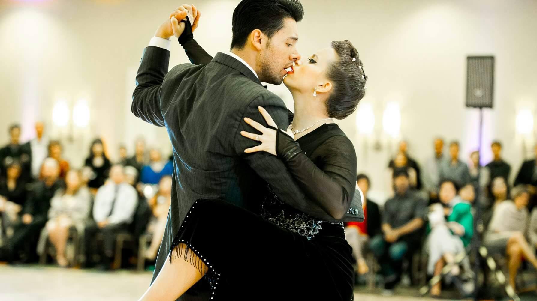 Daniel Moreno  &  Amanda Accica  of... Argentine Tango Detroit