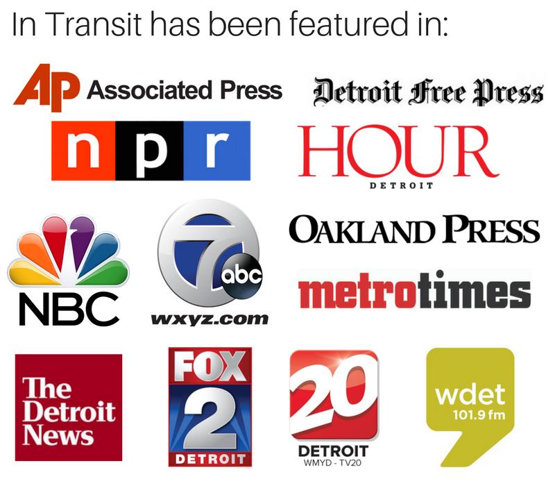 In Transit Detroit Sean Blackman