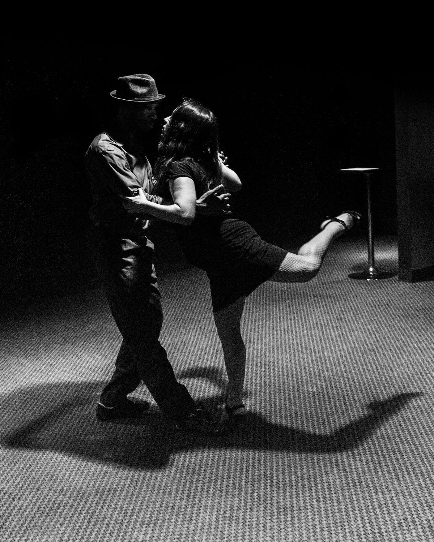 James Valentina and Marina PLESHIVENKOVA .. Photo by Dori Sumter