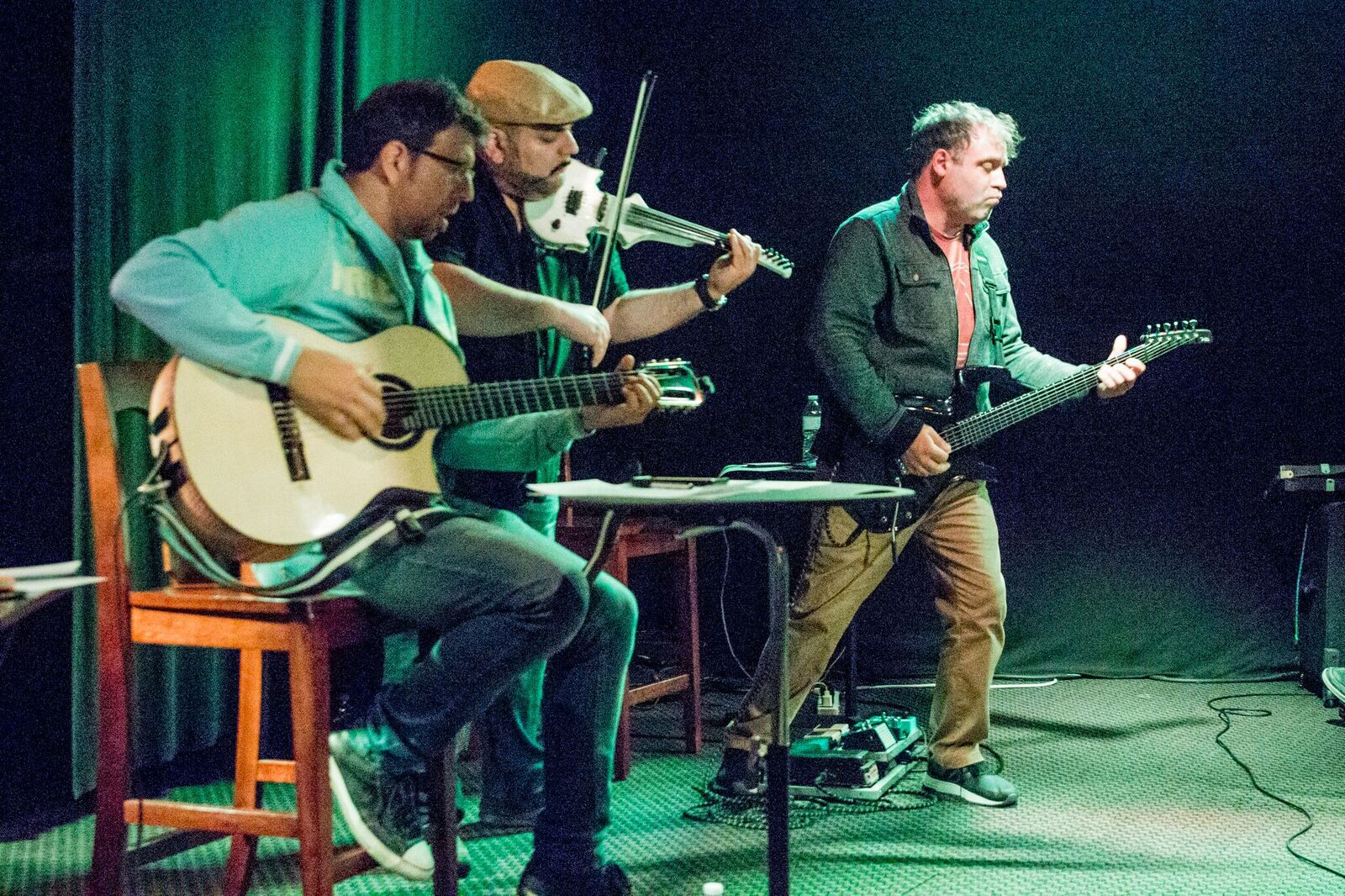 Sean Blackman, Harry Hovakinian, Steve Caldwell. Photo by Dori Sumter