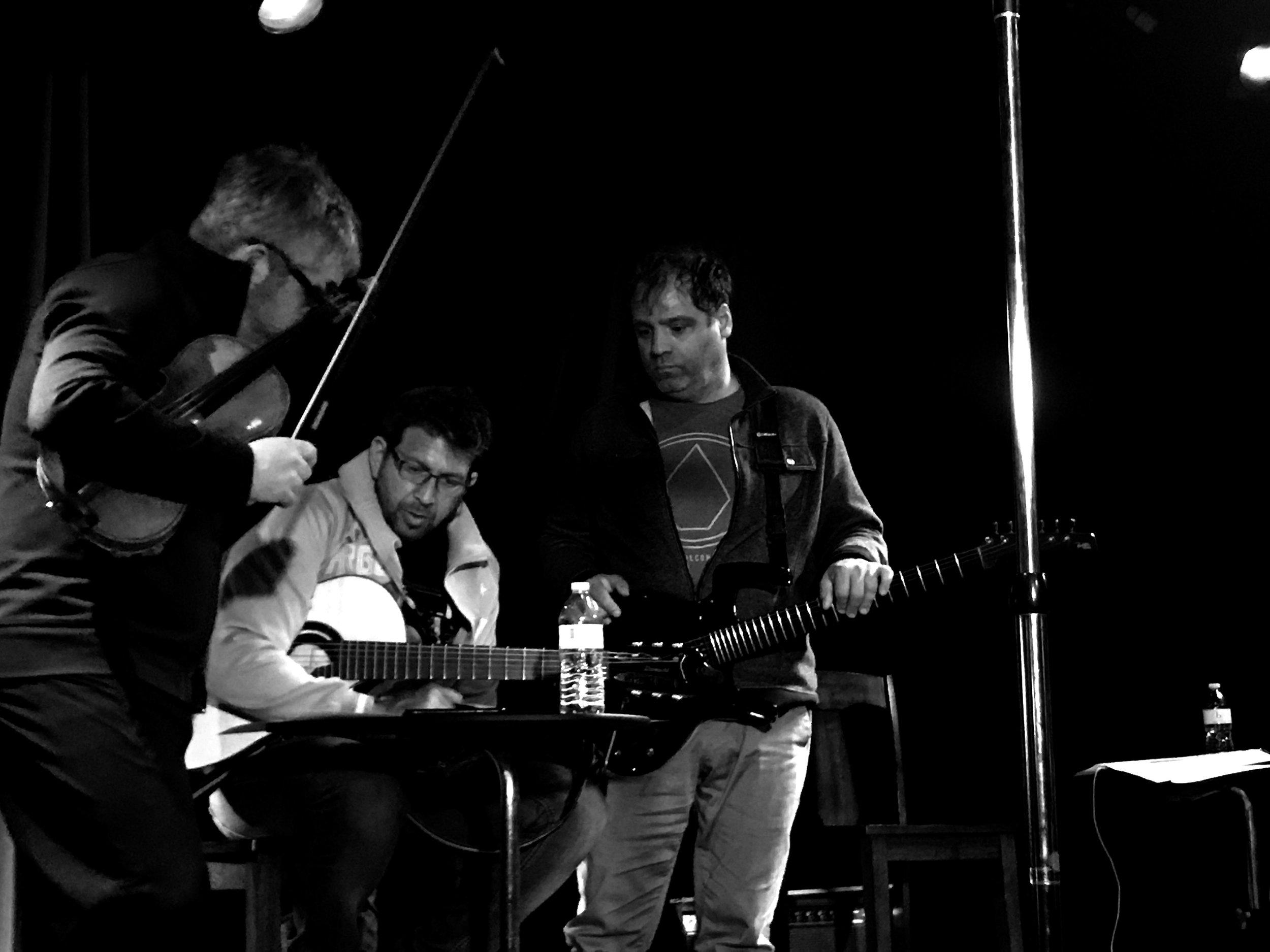 Gabe Bolkosky, Sean Blackman, Steve Caldwell.Photo by Ewa Markiewicz ( EVVA )