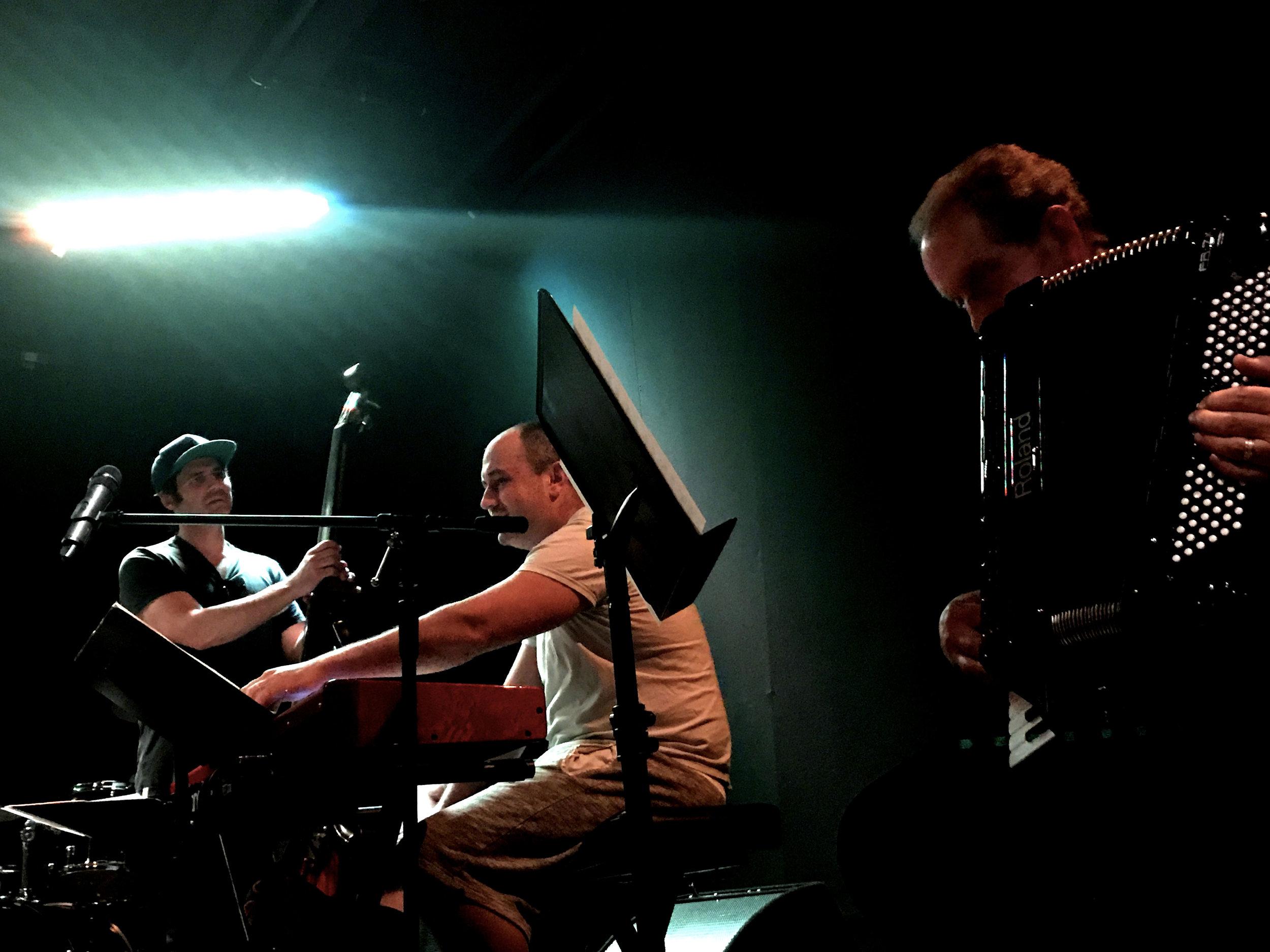 James Simonson, Bob Mervak, David Passalacqua.Photo by Ewa Markiewicz ( EVVA )