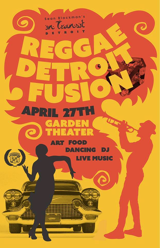 APRIL ~CARIBBEAN  Reggae Detroit Fusion