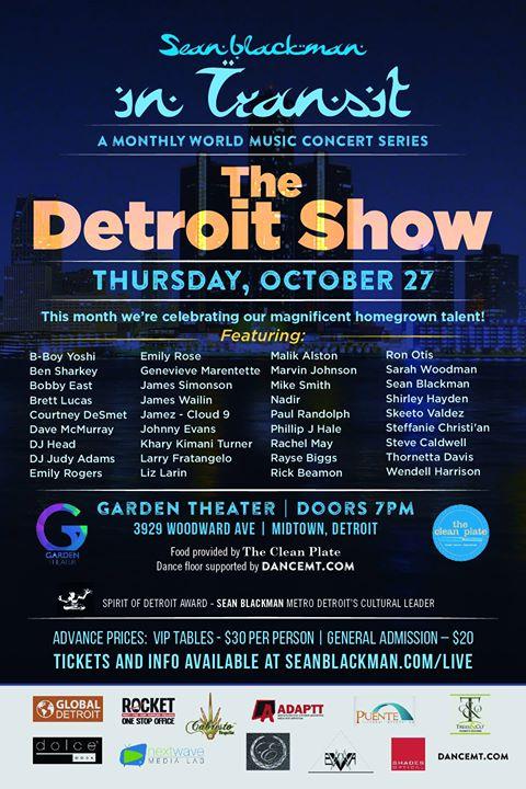 OCTOBER ~DETROIT      The Detroit Show