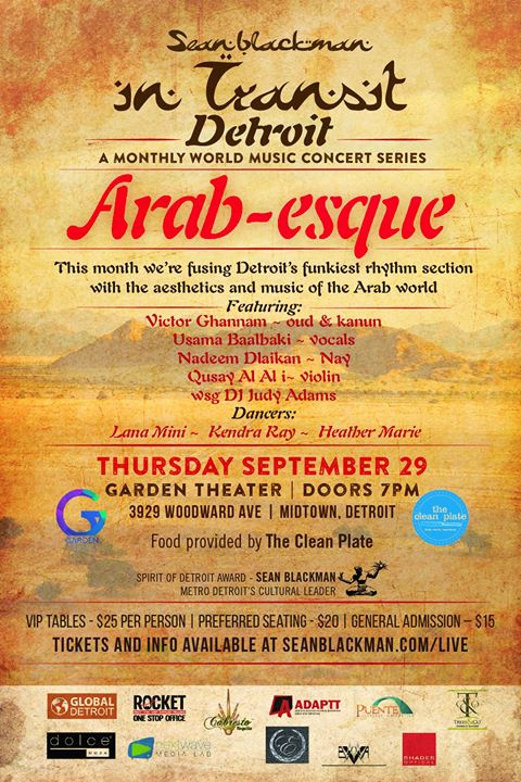 SEPTEMBER ~The Arab World      Arab-esque