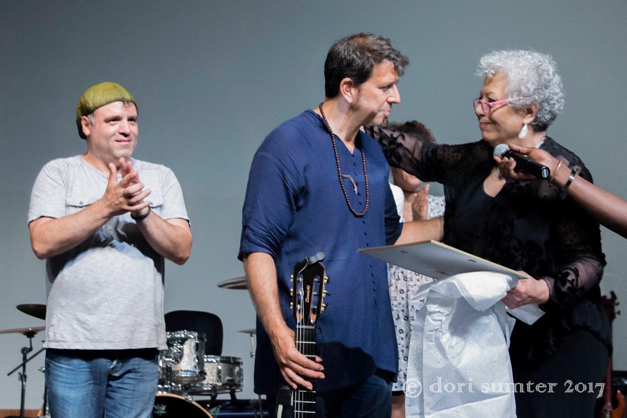 From Left: STEVE CALDWELL, Sean Blackman, Nada Dalgamouni