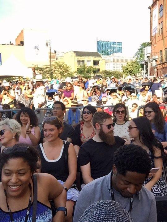 Beautiful Detroit crowd