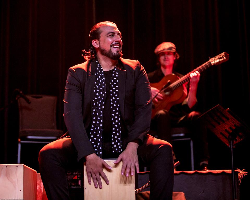 Flamenco Detroit Fusion. Sean Blackman's In Transit. World Music Concert Series