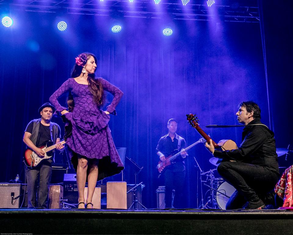 Flamenco Detroit Fusion. Sean Blackman's In Transit Detroit. Spain