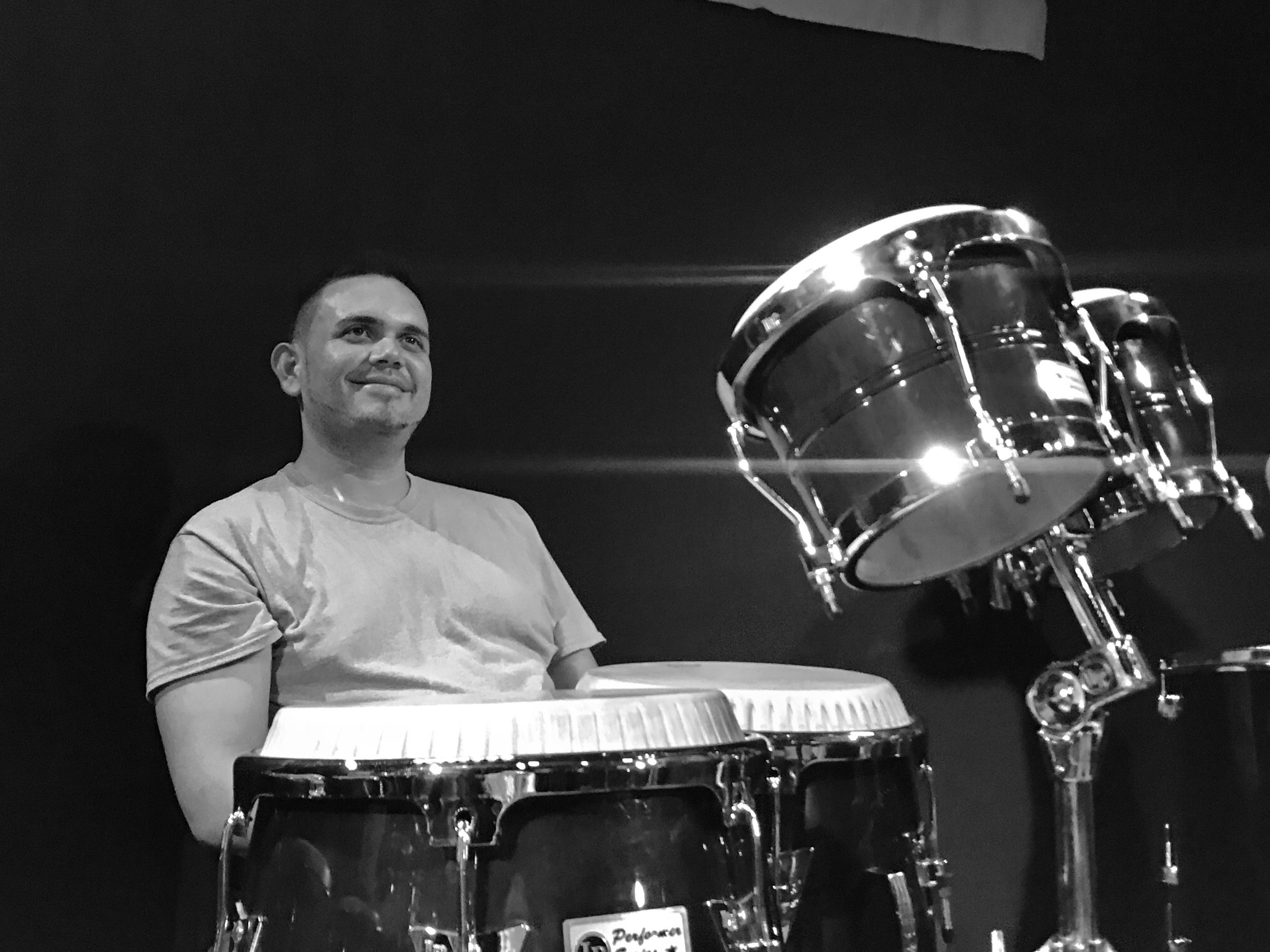Alfonso Reina (percussion)  In Transit Detroit Relief & Recovery Efforts for Puerto Rico