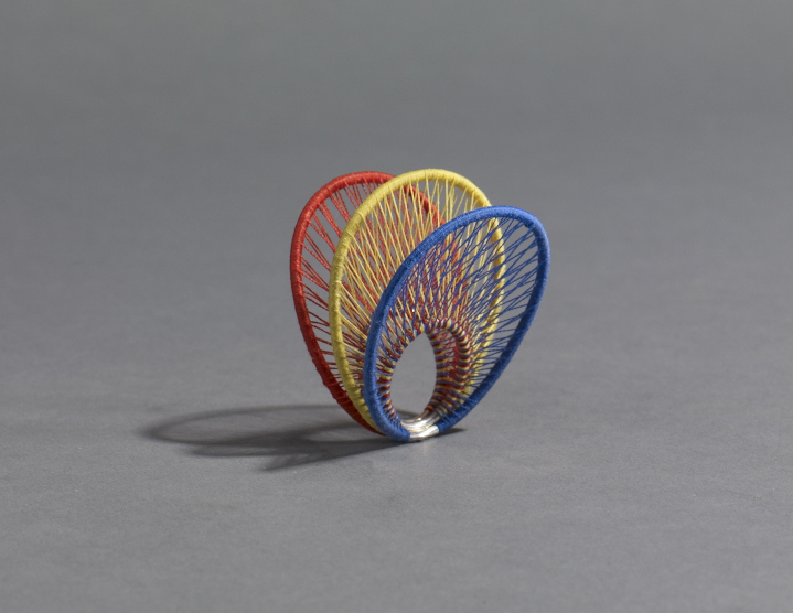 A ring of string (and 925 silver). Image:  Michael Bodiam.