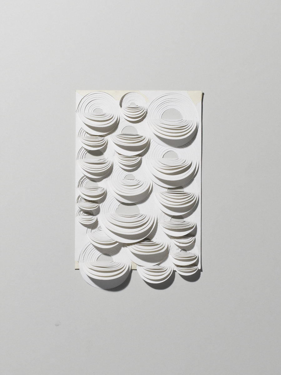 Playing around with paper. Photo:  Michael Bodiam.