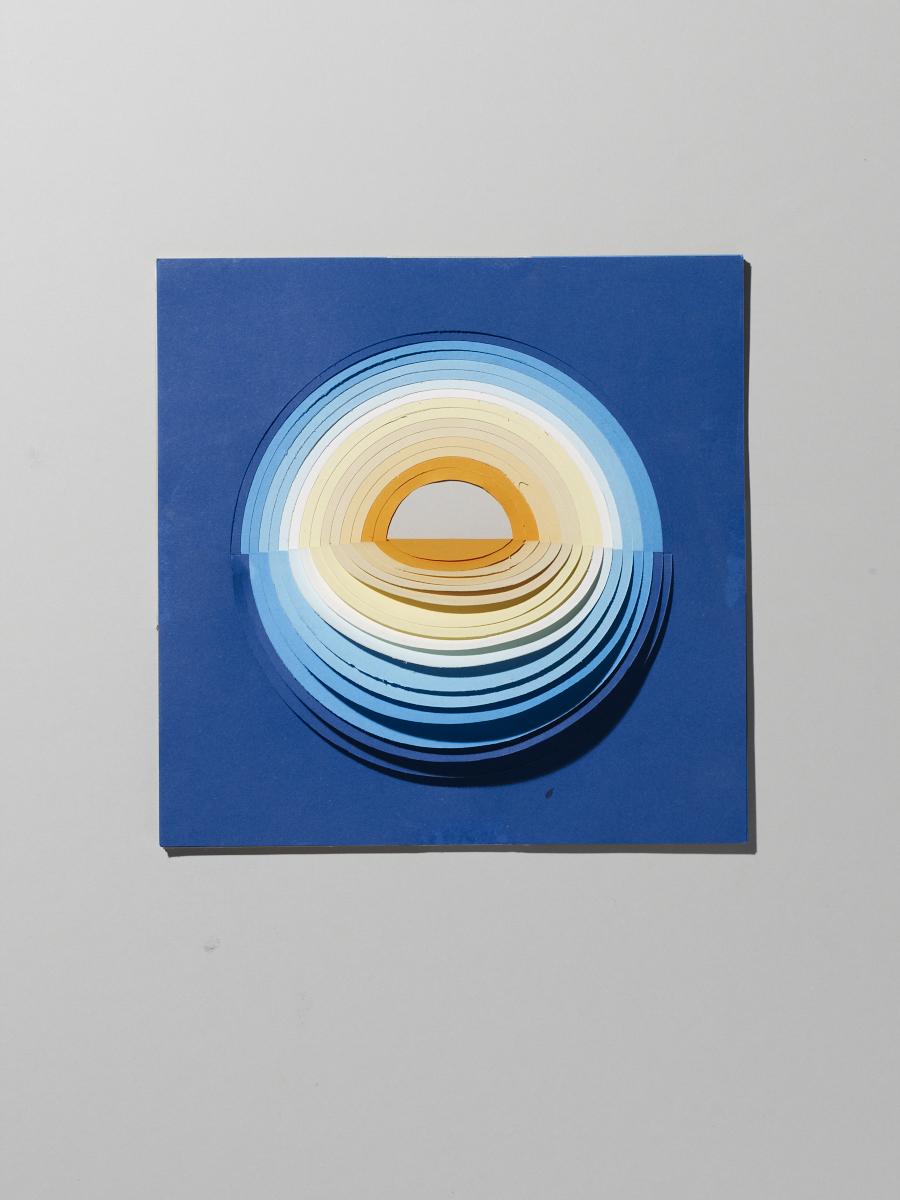 Paper gradient. Photo:  Michael Bodiam.