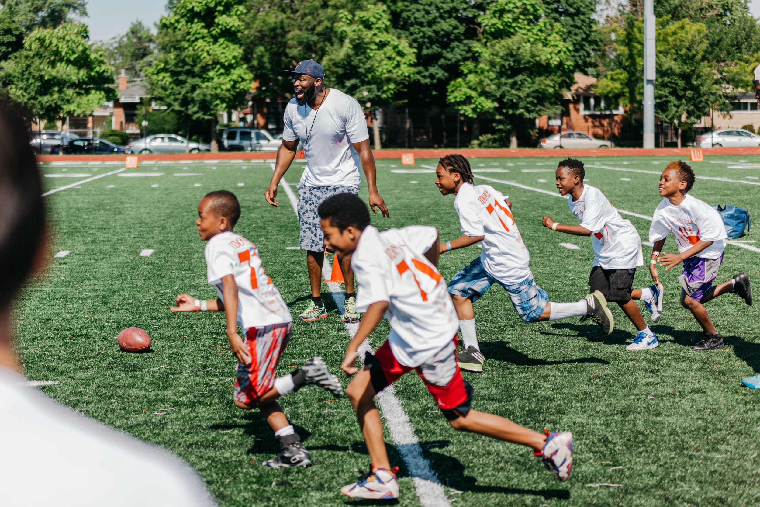 #ILGiveCommunityDay - help us raise funds for the 2017 all-star football and cheer camp.
