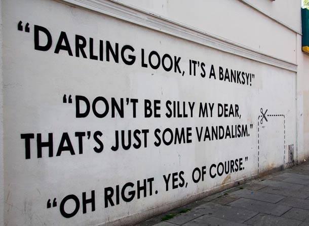 Look, it's a Banksy!